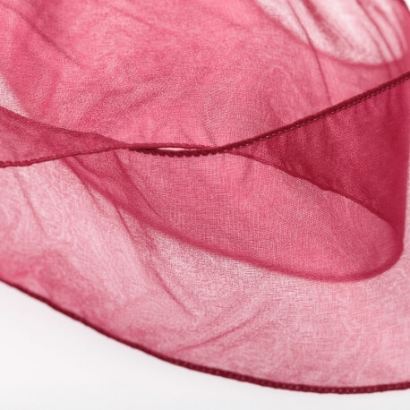 Voile tubulaire pour sac à dragées - Rouge