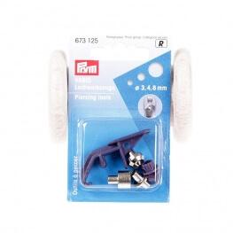 Jeu d'outils pour pince Vario - Percer en 3mm, 4mm, 8mm
