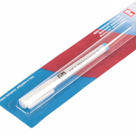Crayon marqueur turquoise extra fin effaçable à l'eau - Prym