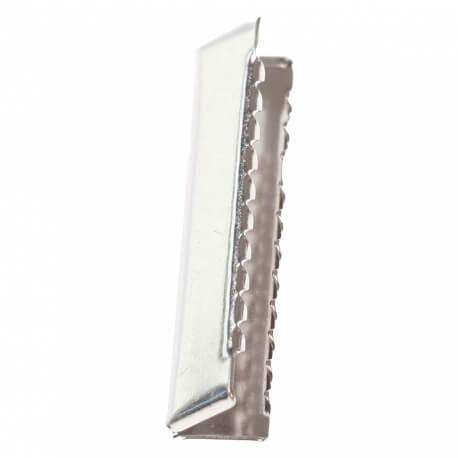 Pince de finition ceinture et sangle 40 mm - Argent