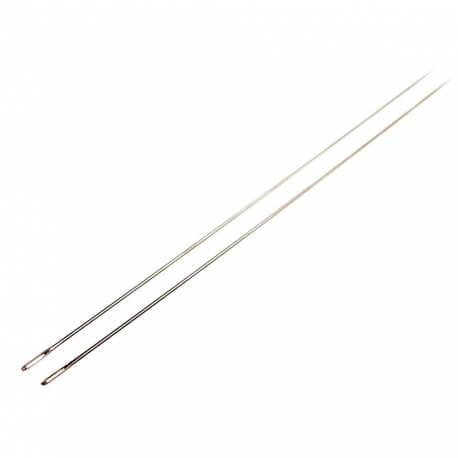Pochette 2 aiguilles à matelas - 13 cm