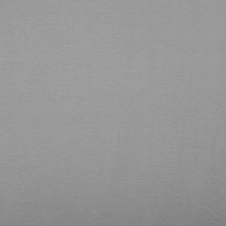 Tissu jersey de coton uni  - Gris