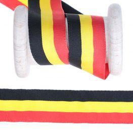 Ruban drapeau Belgique au mètre - 25mm