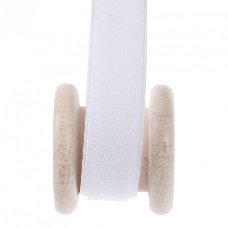 Velcro blanc adhésif au mètre