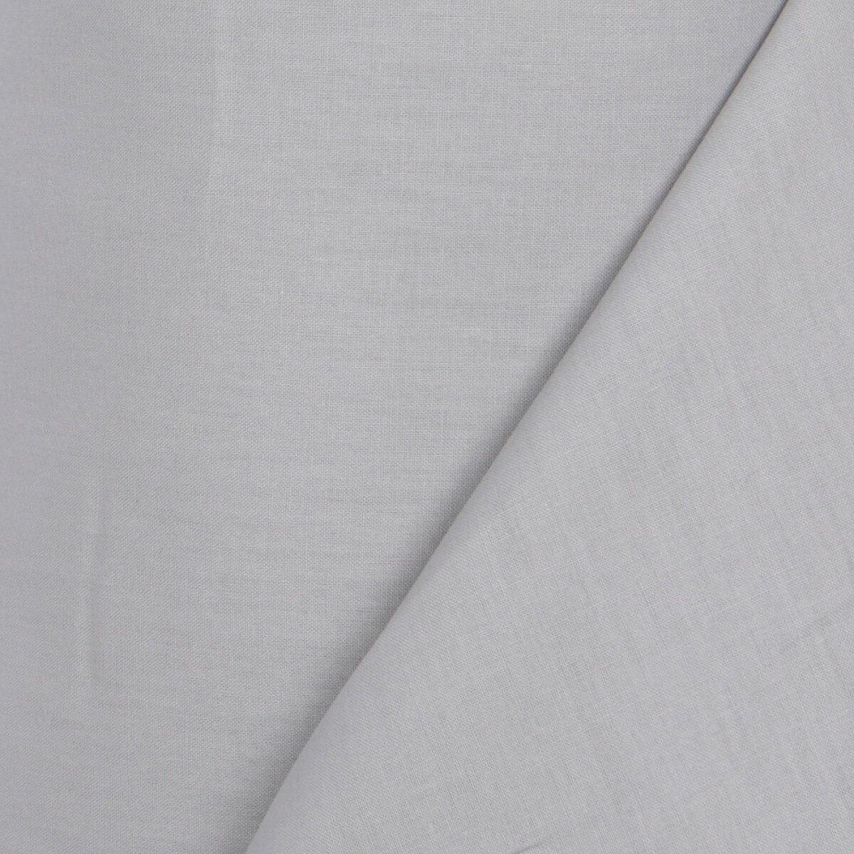 Tissu toile à drap - 240cm - Gris - Mercerie