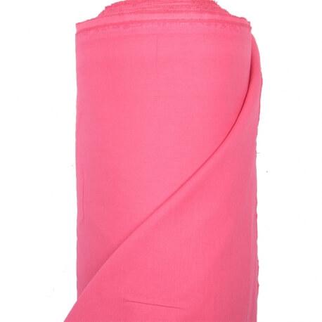 Tissu toile à drap 240cm  - Rose framboise