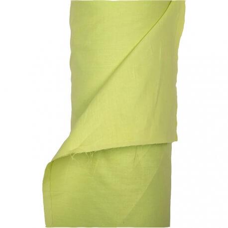 Tissu toile à drap 240cm  - Vert anis