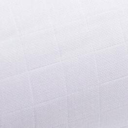 Tissu lange 100% coton - Blanc