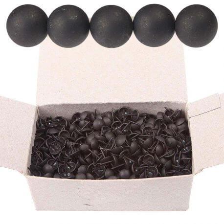 Boîte 1000 clous tapissier noir mat 11mm