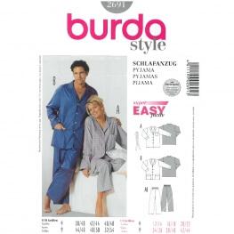Patron de pyjama - Burda 2691