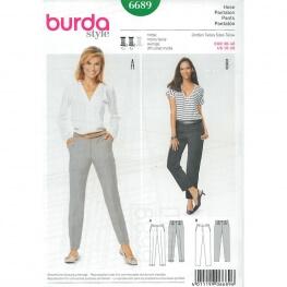 Patron de pantalon femme - Burda 6689