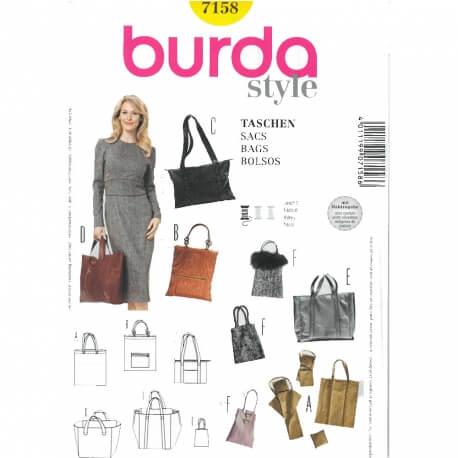 Patron de sacs - Burda 7158