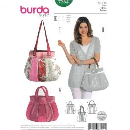 Patron de sac à main - Burda 7264