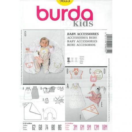 Patron accessoires bébé - Burda 9635