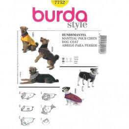 Patron manteau pour chien - Burda 7752