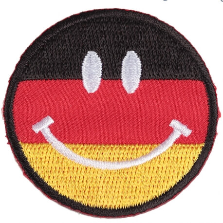Ecusson smiley Allemagne