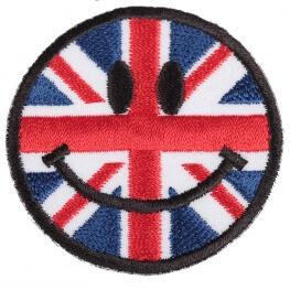 Ecusson smiley Angleterre