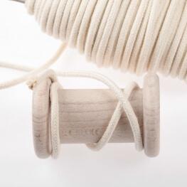 Ganse passepoil coton au mètre - 6 mm