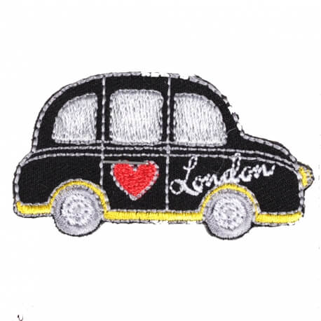 Ecusson taxi anglais - London taxi