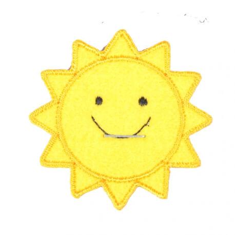 Ecusson soleil joyeux