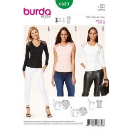 Patron t-shirt femme - Burda 6630