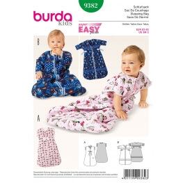 Patron gigoteuse bébé - Burda 9382
