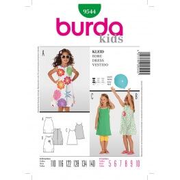 Patron robe enfant - Burda 9544