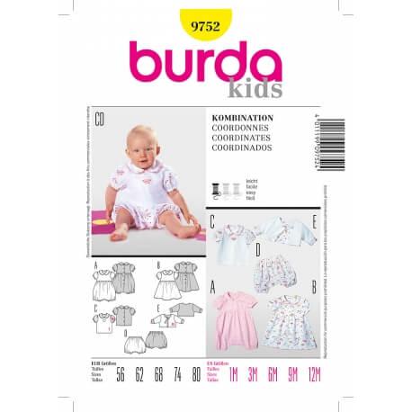 Patron coordonnés enfant - Burda 9752