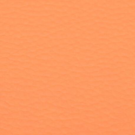 Coupon simili cuir uni orange - 60 x 70 cm