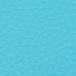 Coupon simili cuir uni turquoise - 60 x 70 cm