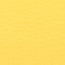 Coupon simili cuir uni jaune - 60 x 70 cm