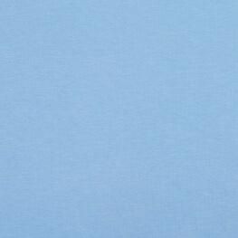 Tissu pour sweat jersey coton uni - Bleu ciel