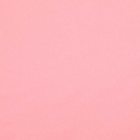 Tissu pour sweat jersey coton uni - Rose bonbon