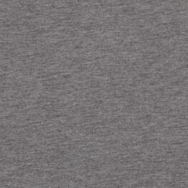 Tissu pour sweat jersey coton uni - Gris chiné
