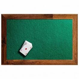 Feutrine à la coupe pour tables de jeux - 2mm Vert