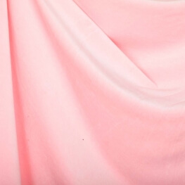Tissu nicki velours - Rose bonbon