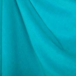 Tissu nicki velours - Turquoise