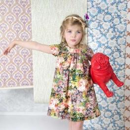Patron robe fille - Jill de la Maison Victor