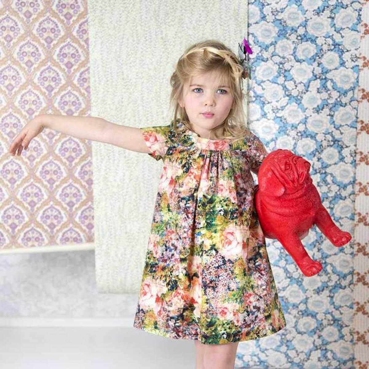 Patron Jill La Maison Victor Patron De Couture Robe Fille