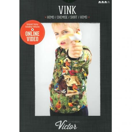Patron chemise garçon - Vink de la Maison Victor