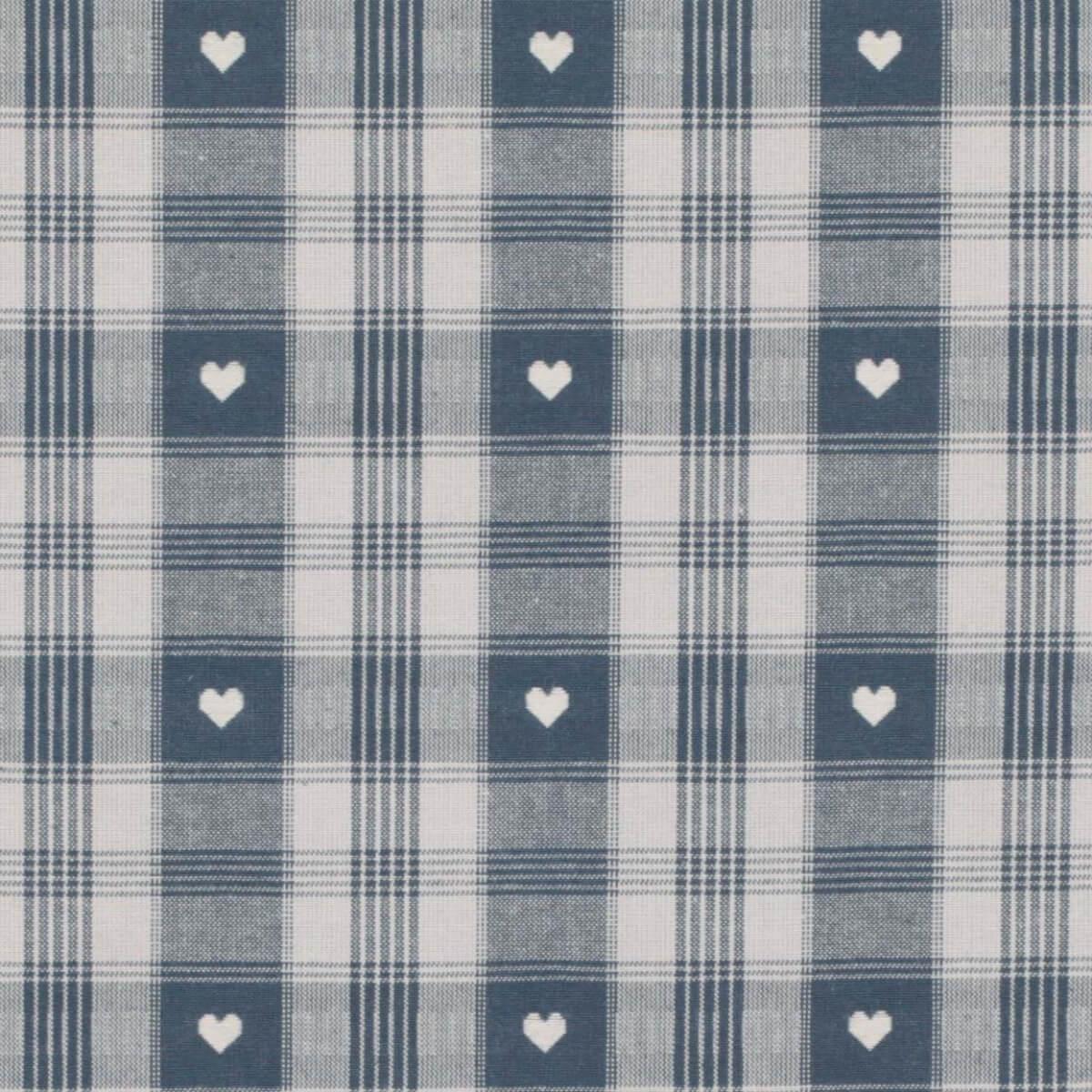 tissu coton traditionnel alsacien montagne bleu merceriecar. Black Bedroom Furniture Sets. Home Design Ideas