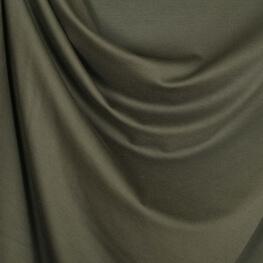 Tissu jersey lourd uni - Kaki
