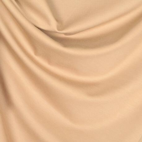 Tissu jersey lourd uni - Camel clair