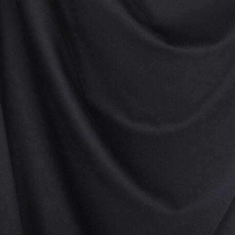 Tissu jersey lourd uni - Bleu marine