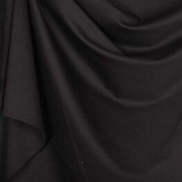 Tissu jersey lourd uni - Noir
