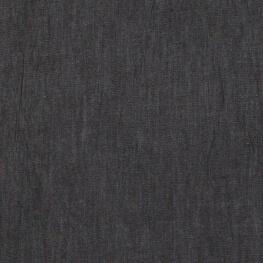Tissu jean denim léger coton - Noir