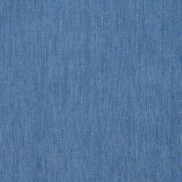 Tissu jean denim léger coton - Bleu
