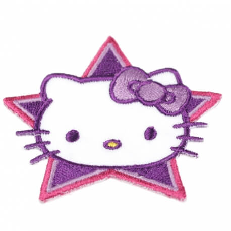 Ecusson Hello Kitty superstar