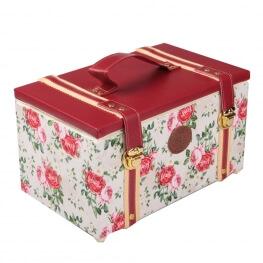 Coffret couture fantaisie fleurs roses - Taille M