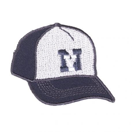 Ecusson casquette New York - Bleu marine